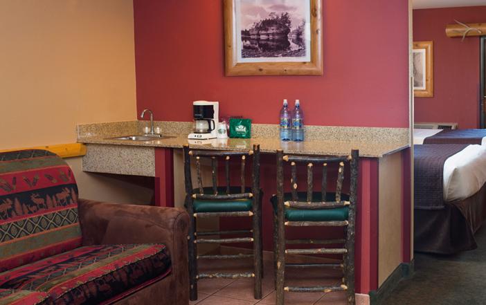 Wilderness Resort Double Suite Wet Bar