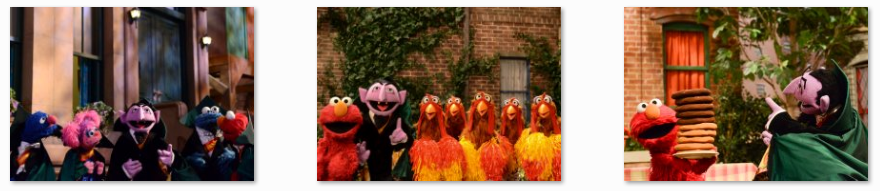 Sesame Street Count on Elmo Characters
