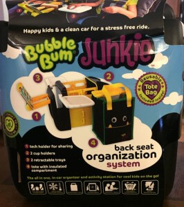 Keep Your Car Organized with BubbleBum Junkie