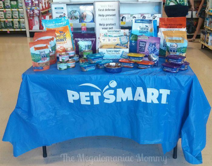 Natural Balance Display at Pet Smart Green Bay West Wisconsin #PetSmartStory #ad