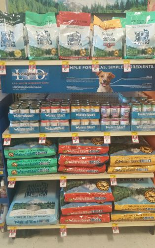 Natural Balance Selection at Pet Smart