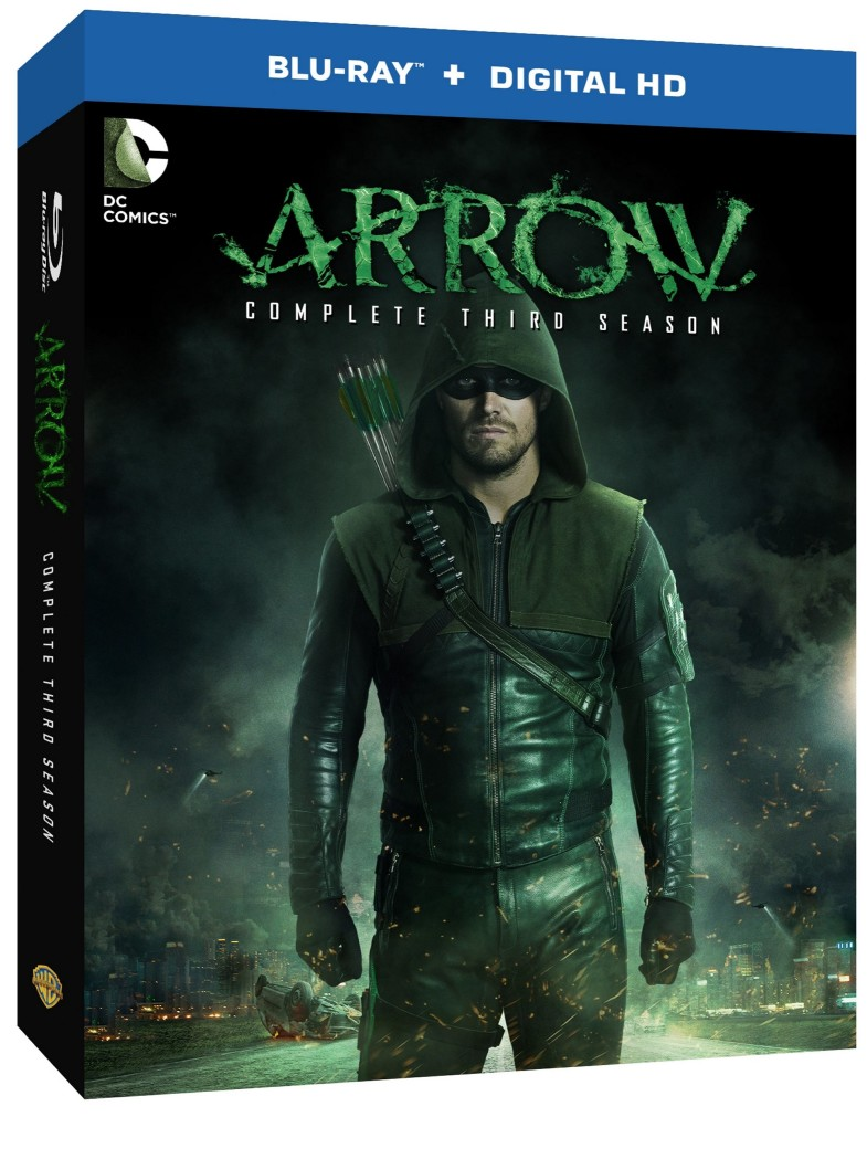 Arrow: The Complete Third Season on Blu-ray