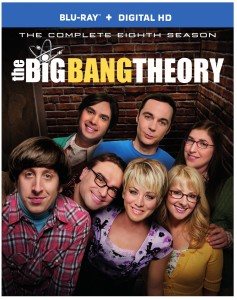 The Big Bang Theory Season 8 on DVD