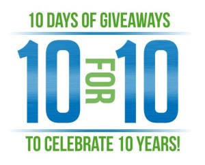 The eneloop 10th Anniversary Giveaway