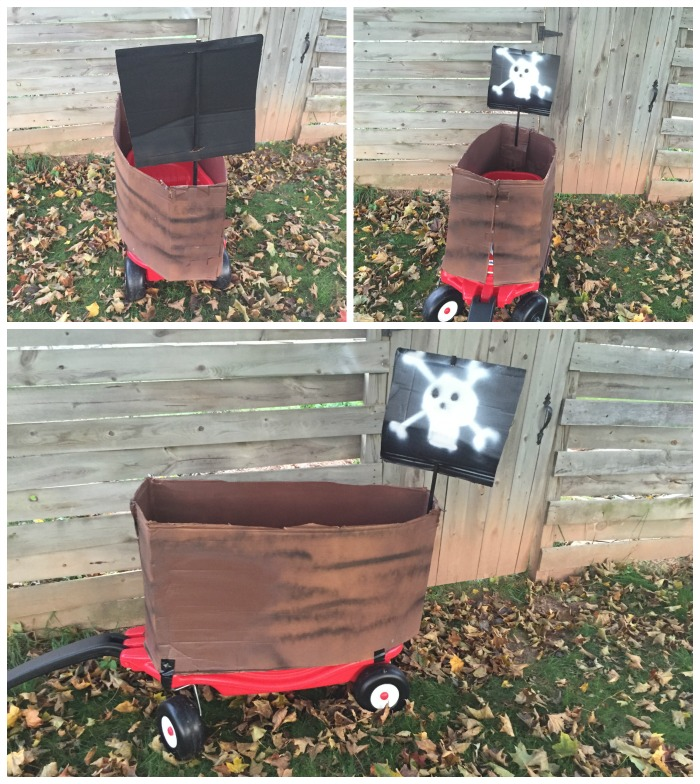 Jolly Roger Cozy Coupe Wagon