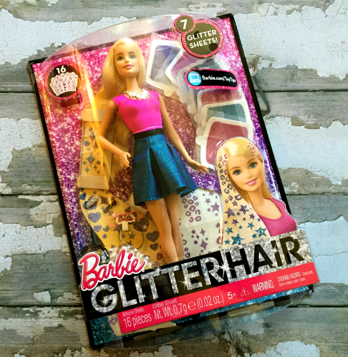 Barbie Glitter Hair