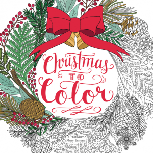 Make it a Christmas to Color