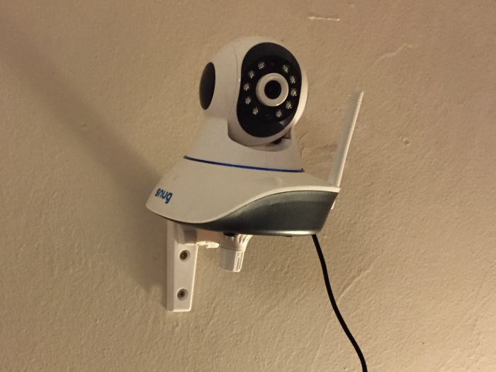 Snug Baby Monitor on wall