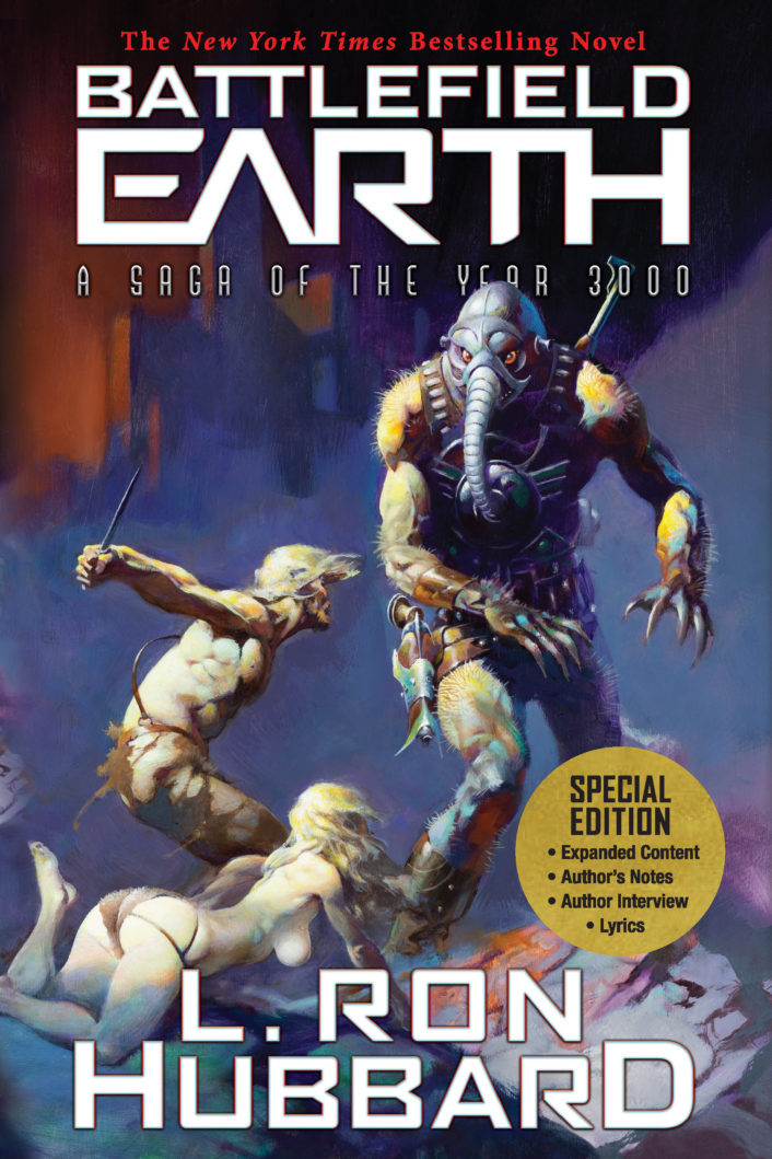 Battlefield Earth - Book Cover