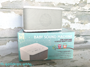 Babies Sleep Peacefully with a Baby Sound Machine + Giveaway – Ends 8/19