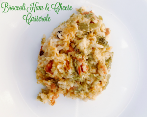 Broccoli Ham & Cheese Casserole – Crock Pot Recipe