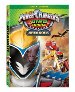 Power Rangers Dino Charge: Breakout on DVD July 12th