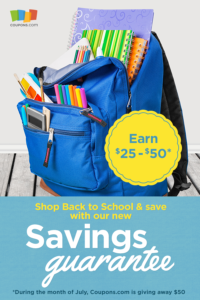 Shop with Confidence with the Savings Guarantee from Coupons.com