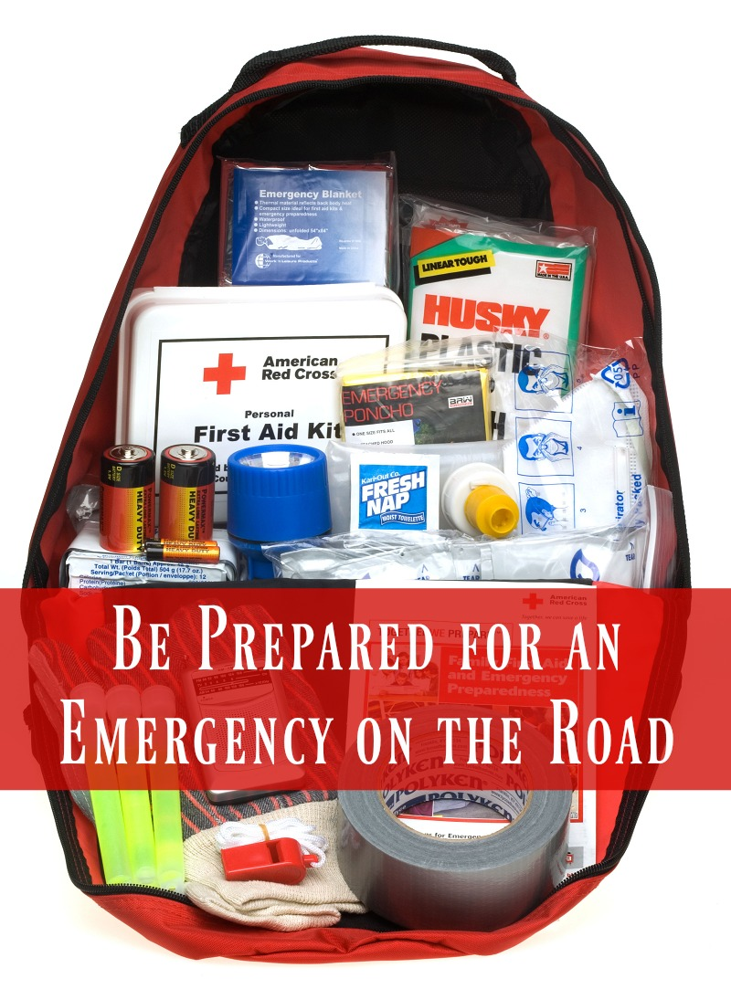 Be Prepared for an Emergency on the Road