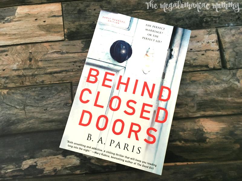 Behind Closed Door B.A. Paris 2