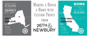 Making a House a Home with Custom Prints from 76th & Newbury