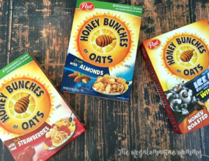 Start Your Day the Post Honey Bunches of Oats Way