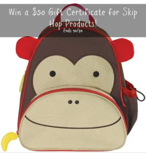 Win Some Skip Hop – Giveaway Ends 10/20