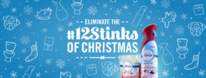 Let Febreze Help You Combat the #12Stinks of Christmas
