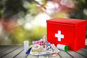 Don't leave home without it: How to put together a simple medical kit