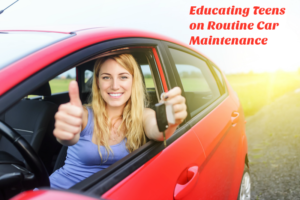 Educating Teens on Routine Car Maintenance