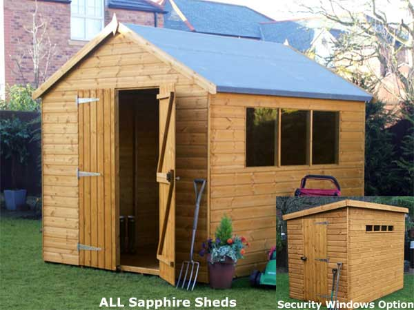 why timber is the best material for a garden shed - Garden Sheds Wooden