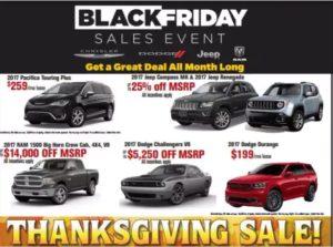 Snag a Last Minute Black Friday Deal on a Car