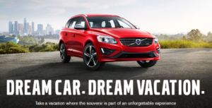 Buy a New Volvo – Get a Vacation!