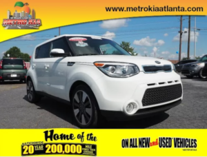 Certified Pre-Owned Vehicle Special at Metro Kia